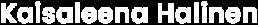 Kaisaleena Halinen logo